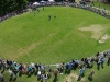 Il ring delle esibizioni visto dal drone
