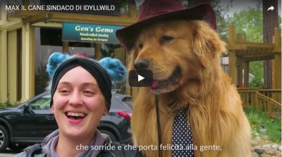 Max, il cane Sindaco e il Dog Pride Day