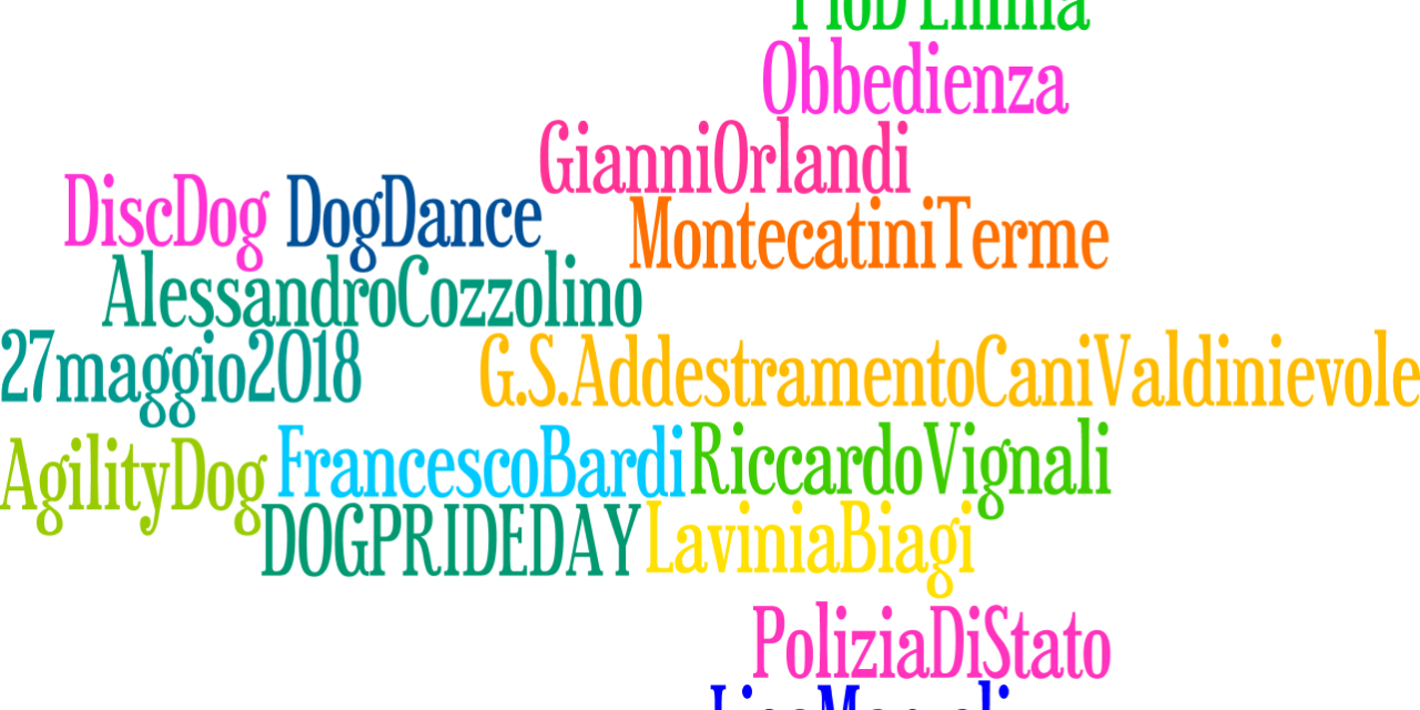 L'ANTRO DI PAN DI ZENZERO & il Dog Pride Day!