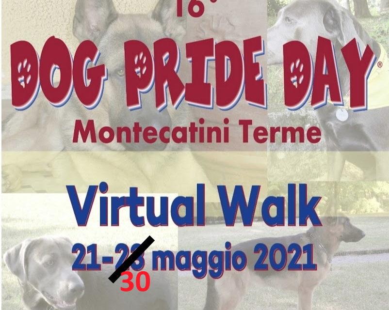 Dog Pride Day 2021 Virtual Walk: prolungata scadenza invio selfie